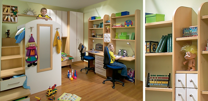 Dětské pokoje fotogalerie 014
