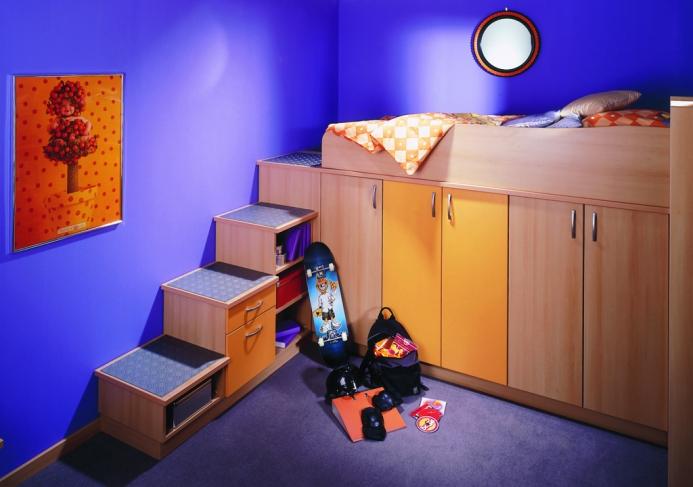 Dětské pokoje fotogalerie 045