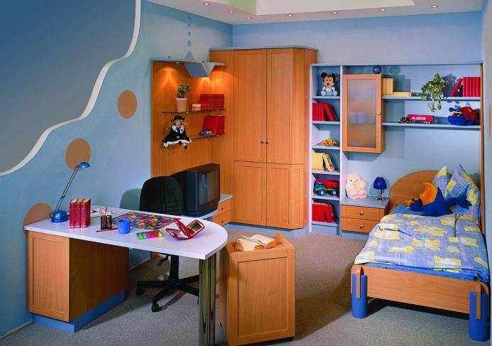 Dětské pokoje fotogalerie 044