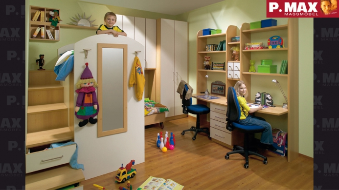 Dětské pokoje fotogalerie 005
