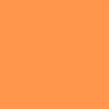 Sklo lak oranžový mat